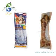 استخوان قلم طبیعی خوک ، سایز کوچک ۱۶ سانتیمتر نوبی (Nobby Italian ham bone ca. 16 cm 120gr) 1