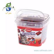 مکمل غذایی مخصوص گربه های عقیم شده بهمراه کران بری و مرغ سانال (Sanal Cat Cranberry & Chicken