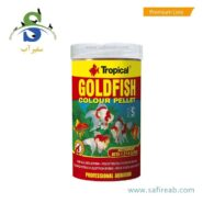 Tropical Goldfish Colour Pellet Tin 250ml