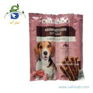 تشویقی مدادی سگ با طعم گوشت گوساله (۸ عددی) اورلاندو (Orlando kauwürstchen mit kalb 88gr) 2