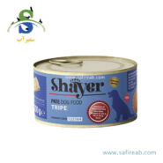 کنسرو سگ پته سیرابی (۲۰۰ گرم) شایر (Shayer Tripe Dog Food 200gr)