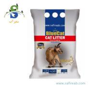 خاک گربه گرانول کروی شکل (اسپشیال) با رایحه (۵ کیلوگرم) بلوکت (Blue Cat Soil 5kg)