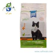 غذای خشک مخصوص گربه عقیم شده با طعم ماهی سالمون (۱.۵ کیلوگرم) پاو پاو (Paw Paw Strilised Salmon 1.5 kg)