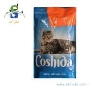 پوچ (سوپ) گربه با طعم بوقلمون و بره (۱۰۰ گرم) کوشیدا (Coshida Turkey & Lamb۱۰۰gr)