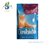پوچ (سوپ) گربه با طعم گوشت گاو و بوقلمون (۱۰۰ گرم) کوشیدا (Coshida Veal & Turkey 100gr)
