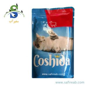 پوچ (سوپ) گربه با طعم گوشت گاو (۱۰۰ گرم) کوشیدا (Coshida Rind 100gr) 2