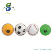 اسباب بازی توپ جغجغه ای صدا دار (۴ عددی) چانگ لیر (Chong Le'er Sound Ball Toy)