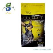 غذای خشک مخصوص سگ نژاد کوچک اورلاندو (Orlando Kleine Kroketten Mit Geflugel&Inulin