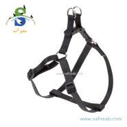 قلاده کتفی ایزی مشکی رنگ (سایز XL) فرپلاست (Ferplast Easy Harness XL) 1