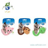 اسباب بازی گربه حاوی کت نیپ (دارای ۳ مدل) دُوو (Duvo+ Assortment Animals Tail With Catnip) 1