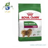 غذای خشک سگ بالغ نژاد کوچک داخل خانه (۱.۵ کیلوگرم) رویال کنین (Royal Canin Mini Indoor Adult 1.5kg)
