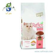 غذای خشک بچه گربه حاوی گوشت مرغ (۱۵ کیلوگرم) رفلکس (Reflex Cat Kitten Dry Food Chicken 15 kg)