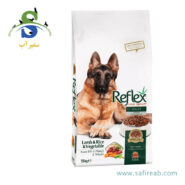 غذای خشک سگ بالغ با طعم گوشت بره ، برنج رفلکس (Reflex Adult Dog food Lamb & Rice & vegetable