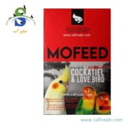 MoFeed cockatiel and love bird