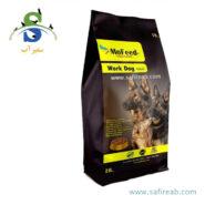 غذای خشک ورک مخصوص سگهای کار و با فعالیت بالا (۱۰ کیلوگرم) مفید (MoFeed Work Dog food 10kg)