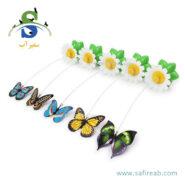 اسباب بازی چرخشی گربه طرح پروانه چانگ لیر (Chong Le'er ZACY Cat Toys Electric Rotating Colorful Butterfly) 1