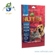 تشویقی فریز دراید حاوی گوشت مخصوص سگ و گربه نوتری پت (Nutri Pet Beef Freez Dried Treat for Cat & Dog