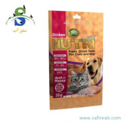 تشویقی فریز دراید مرغ مخصوص سگ و گربه نوتری پت (Nutri Pet Chicken Freez Dried Treat for Cat & Dog