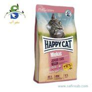 غذای خشک مینکاس بچه گربه مدل جونیور (۱۰ کیلوگرم) هپی کت (Happy Cat Minkas Junior Care 10 kg) (Large)