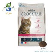 غذای خشک گربه حاوی بوقلمون (۲ کیلوگرم) فلاتازور (Flatazor Crocktail Adult With Turkey 2kg)